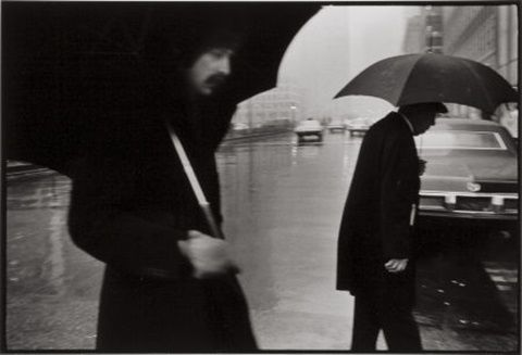 Duane Michals New York (Rainy Day)