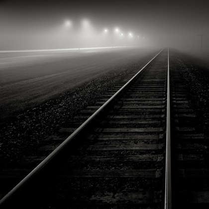 Foggy Night, Stafford, Texas