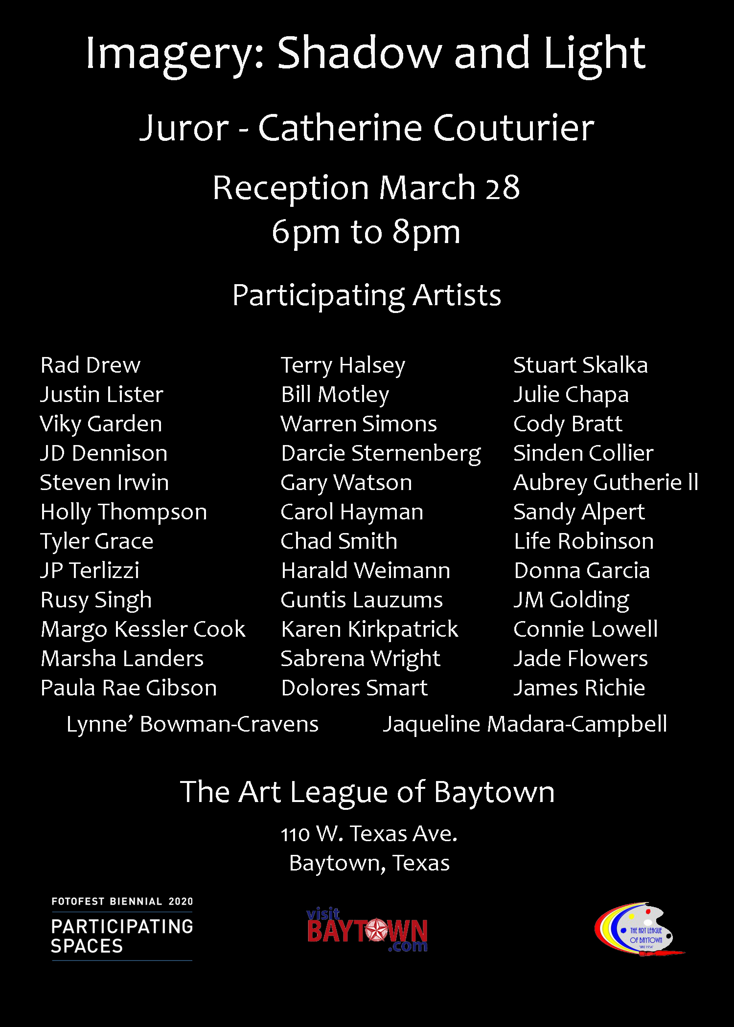 Imagery Exhibition, Baytown Art League