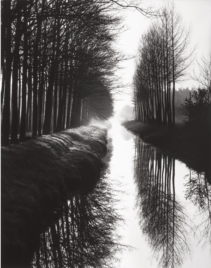 Brett Weston, Holland Canal, 1971, Catherine Couturier Gallery