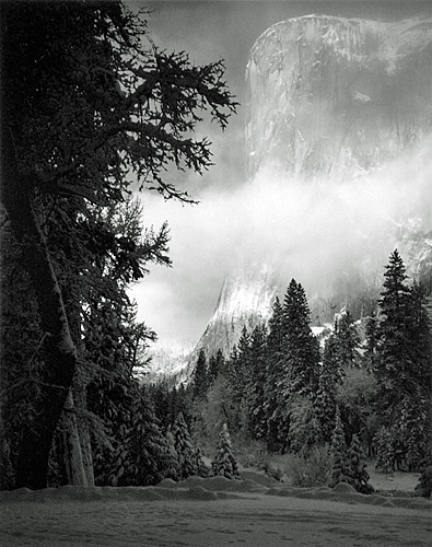 Ansel Adams, El Capitan, Winter Sunrise, Yosemite, 1968/1976