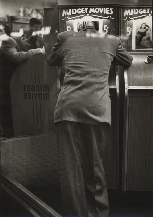 Louis Faurer, 42nd Street, New York, NY c 1948/1981