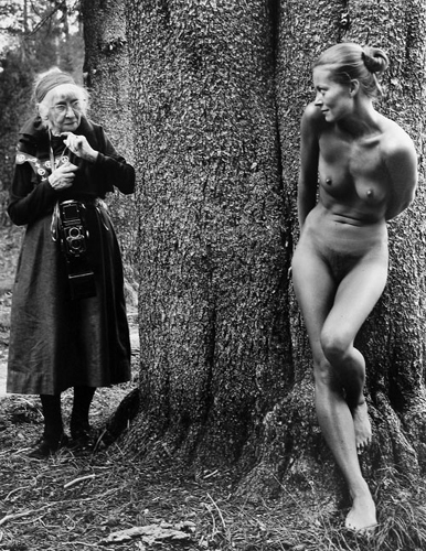 Judy Dater, Imogen and Twinka at Yosemite, 1974/2006