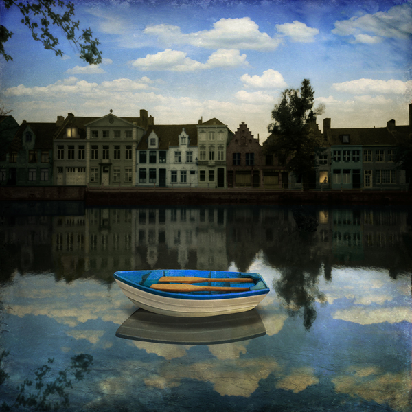 Maggie Taylor, Small Boat, Waiting, 2012