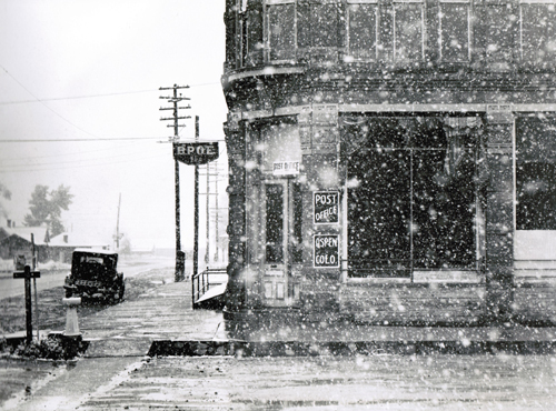Marion Post-Wolcott, Post Office, Aspen, CO, 1941