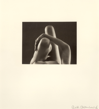 Ruth Bernhard, Knees and Arm, 1976