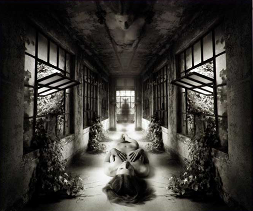 Jerry Uelsmann, Self-Reflection, 2009