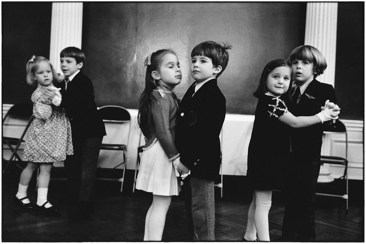Elliott Erwitt New York City, 1877 (kids dancing)