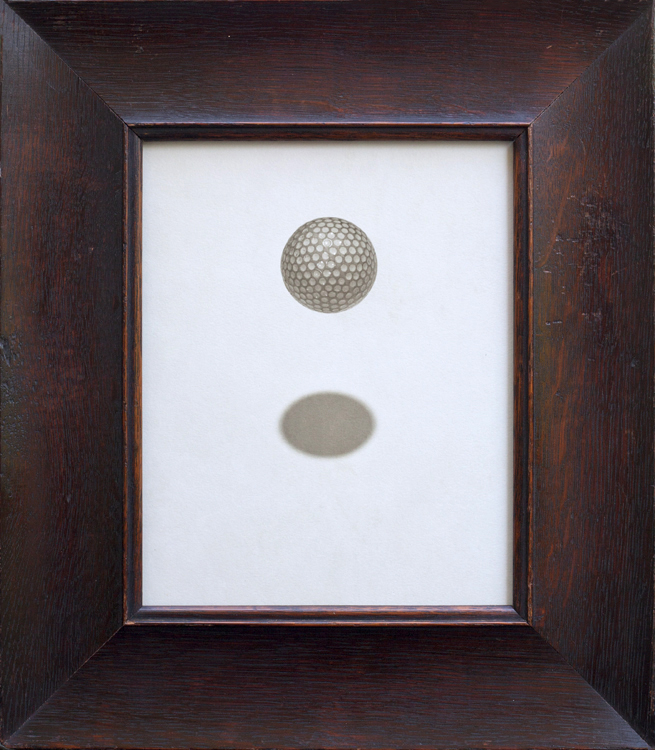 Golfball, Jefferson Hayman, Catherine Couturier Gallery
