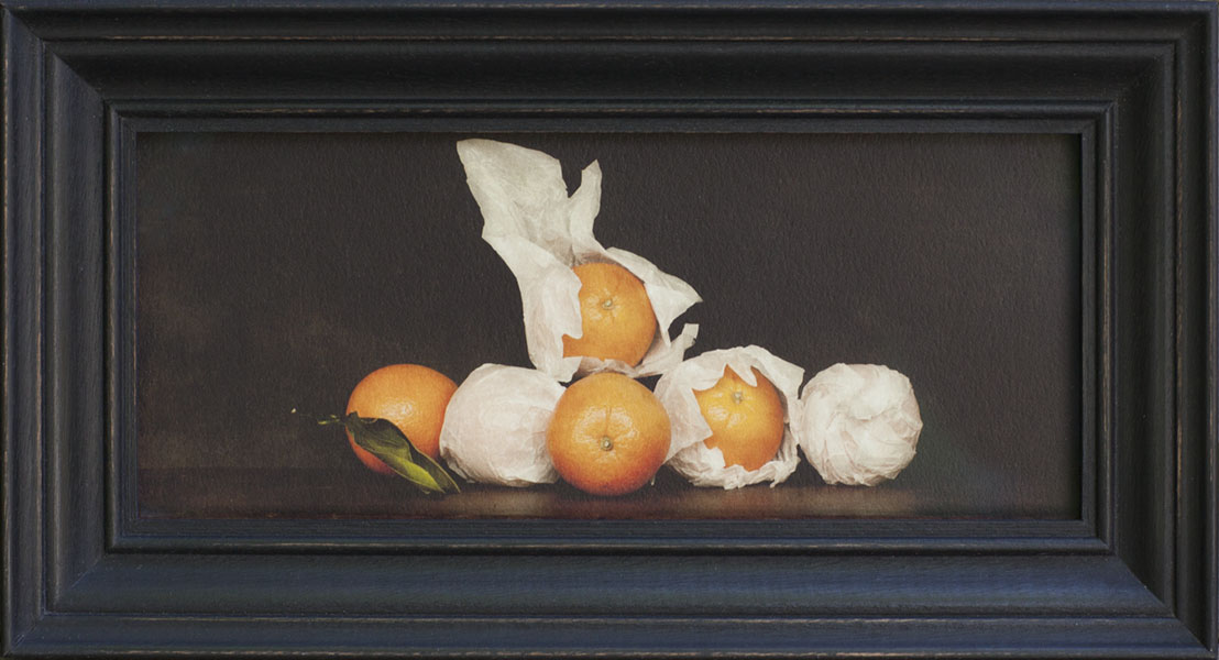 Still Life With Oranges, Jefferson Hayman, Catherine Couturier Gallery