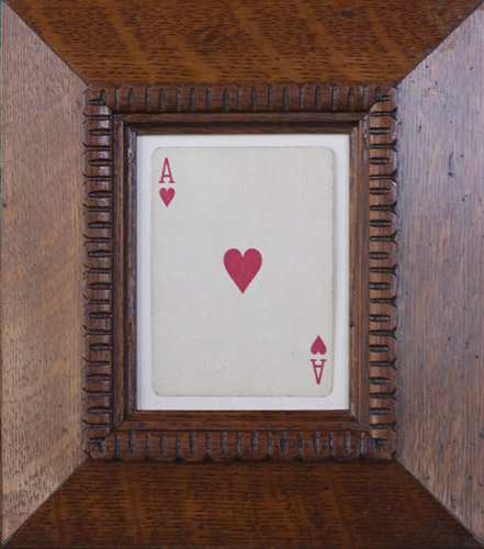Jefferson Hayman Things I Saw Wihtout You Ace of Hearts