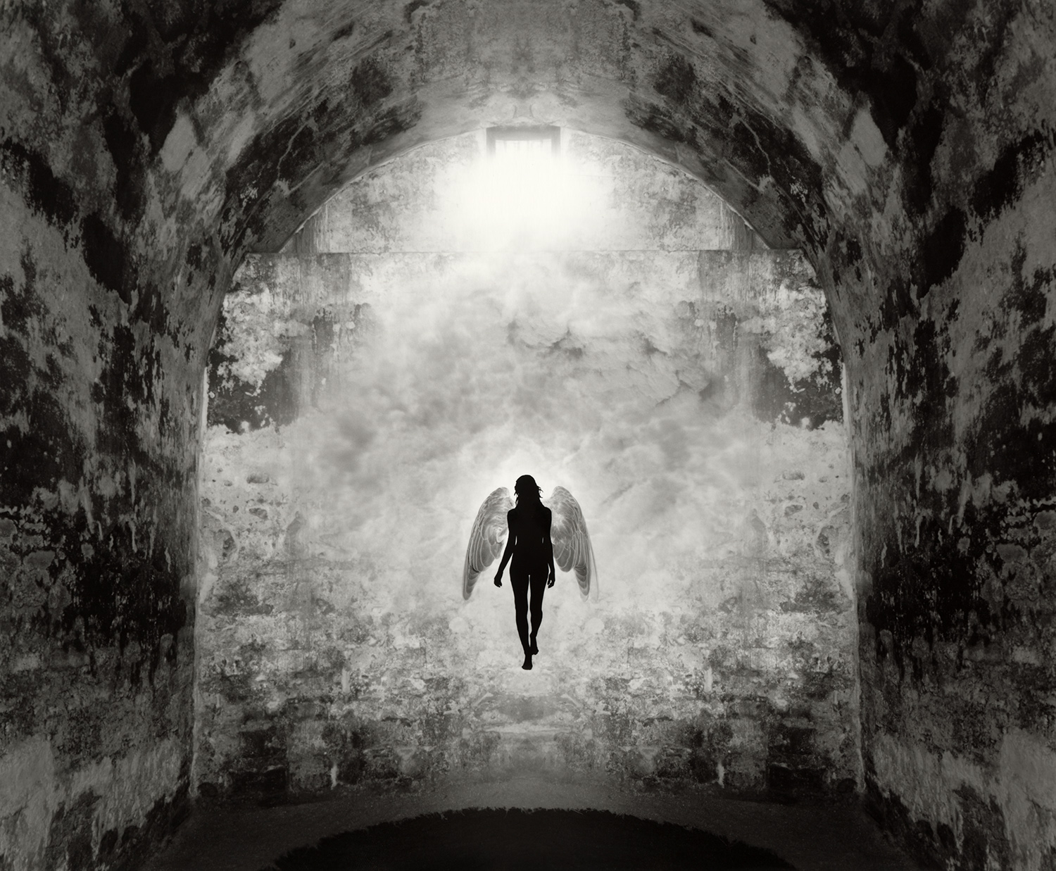 Jerry Uelsmann Apparition II Catherine Couturier Gallery