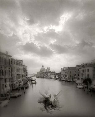 Jerry Uelsmann Untitled Figure in Water Venice 2008