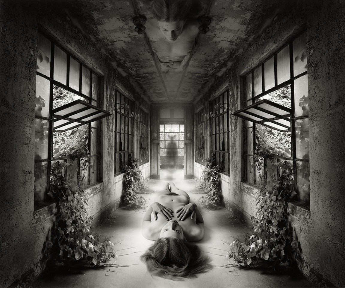 Self Reflection, Jerry Uelsmann, Catherine Couturier Gallery, 2009, gelatin silver print