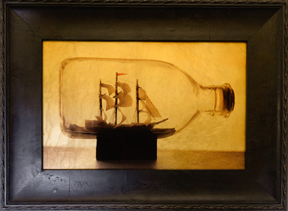 Kate Breakey, Ship in a Bottle