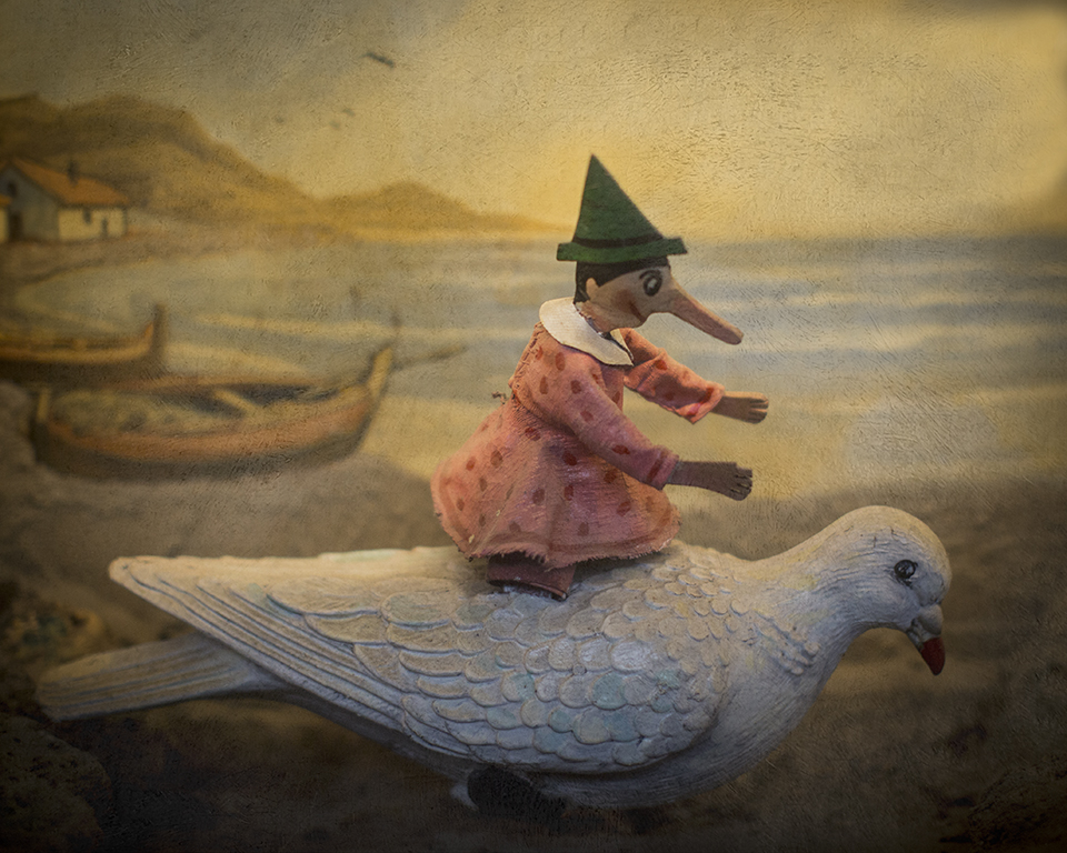 Keith Carter Pinocchio on Dove