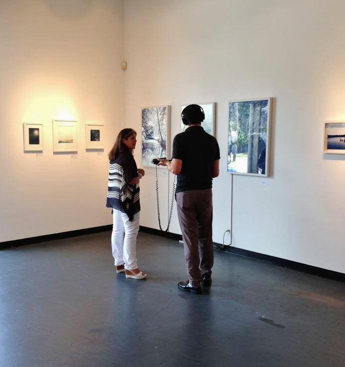Libbie J. Masterson Interviewed for Houston 91.7 The Front Row Catherine Couturier Gallery