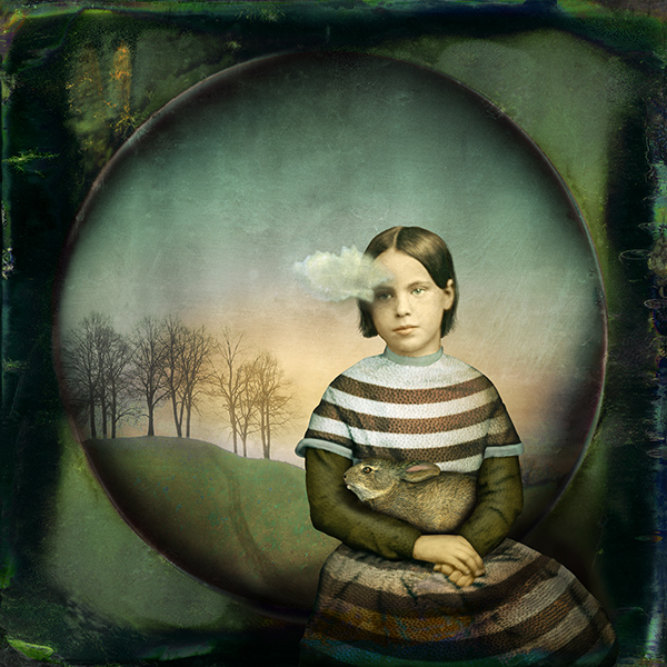 maggie taylor, girl with a small cloud, 2012