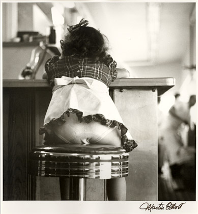 Martin Elkort - At the Soda Fountain, Coney Island