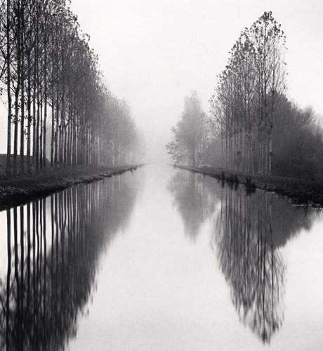 Michael Kenna, French Canal, Study 1, Catherine Couturier Gallery