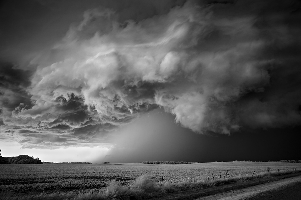 Storm Over Field : Catherine Couturier Gallery - Houston, Texas