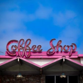 Neon Coffee Shop