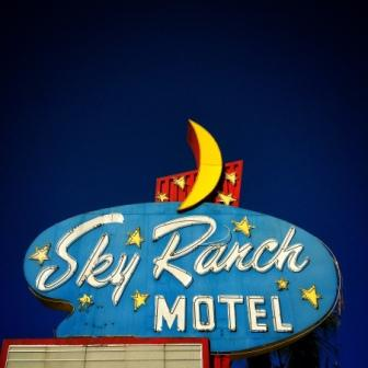 Molly Block Sky Ranch Vegas Motel