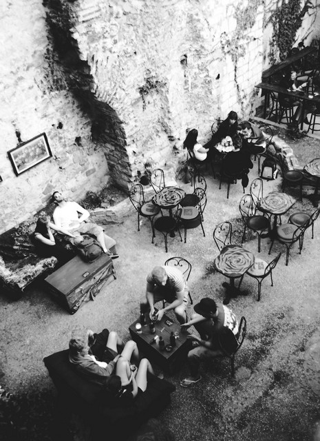 Cafe in Split