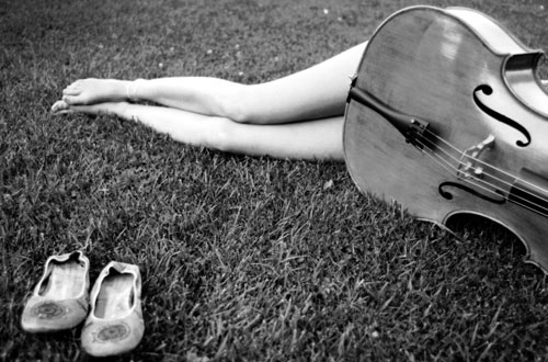 Feet with Cello