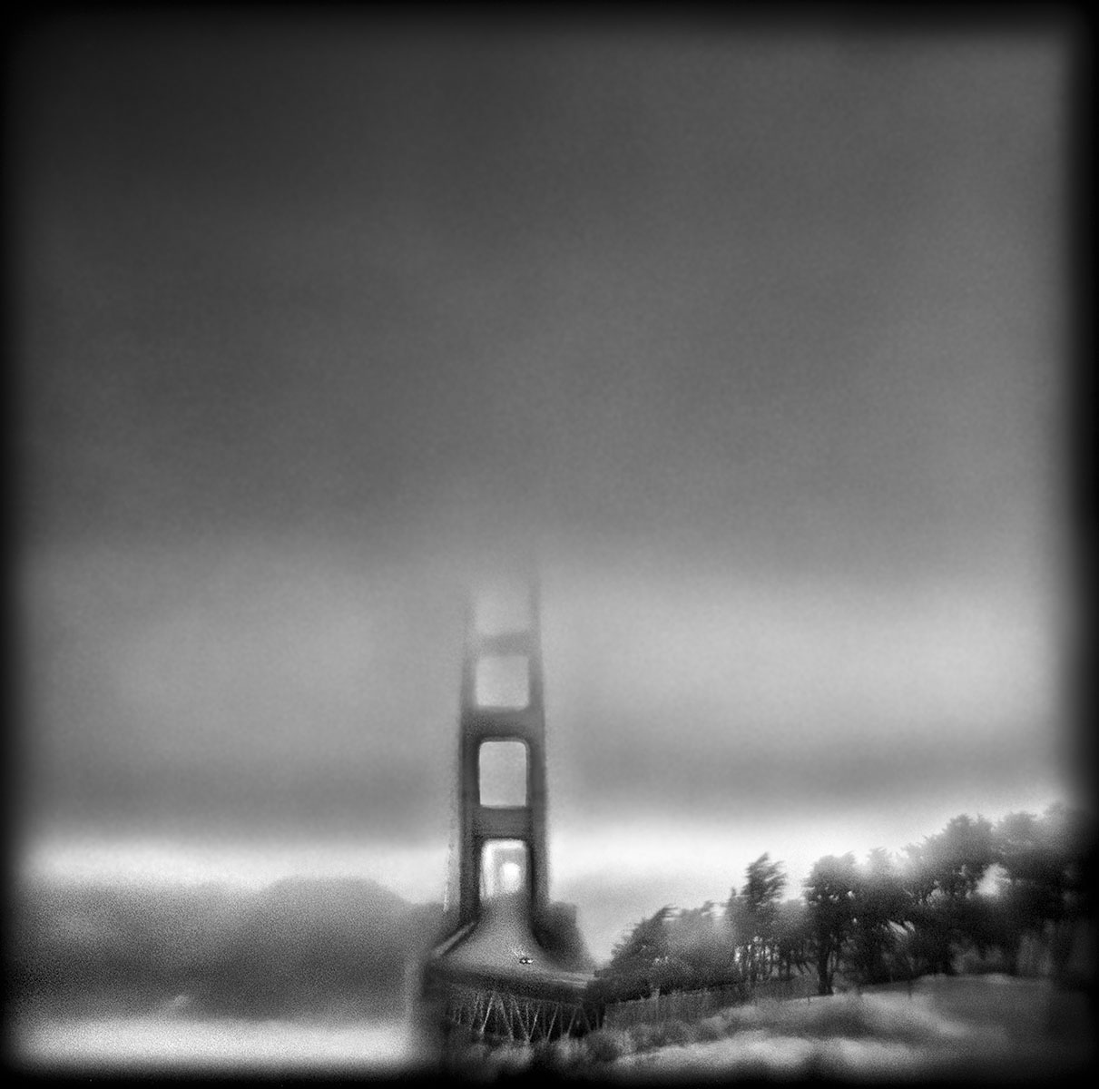 Susan Burnstine Golden Gate Bridge Absence of Being