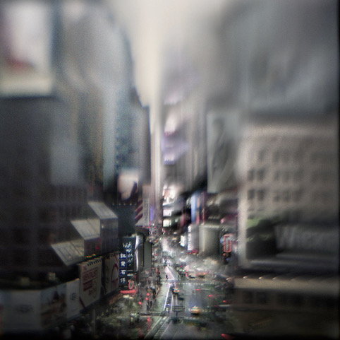 Susan Burnstine, Where Shadows Cease, Times Square, Catherine Couturier Gallery