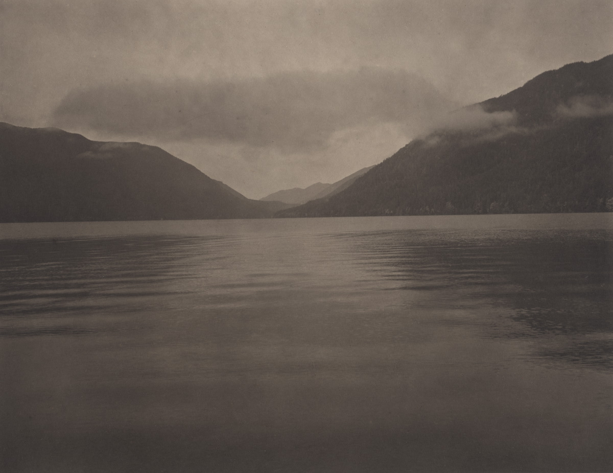Takeshi Shikama Silent Respiration of Forests - Pacific Northwest: Lake Crescent #1