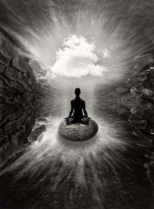 courtesy of www.catherinecouturier.com meditation The benefits of Meditation in Lifestyle Jerry Uelsmann Stone Meditation 2008