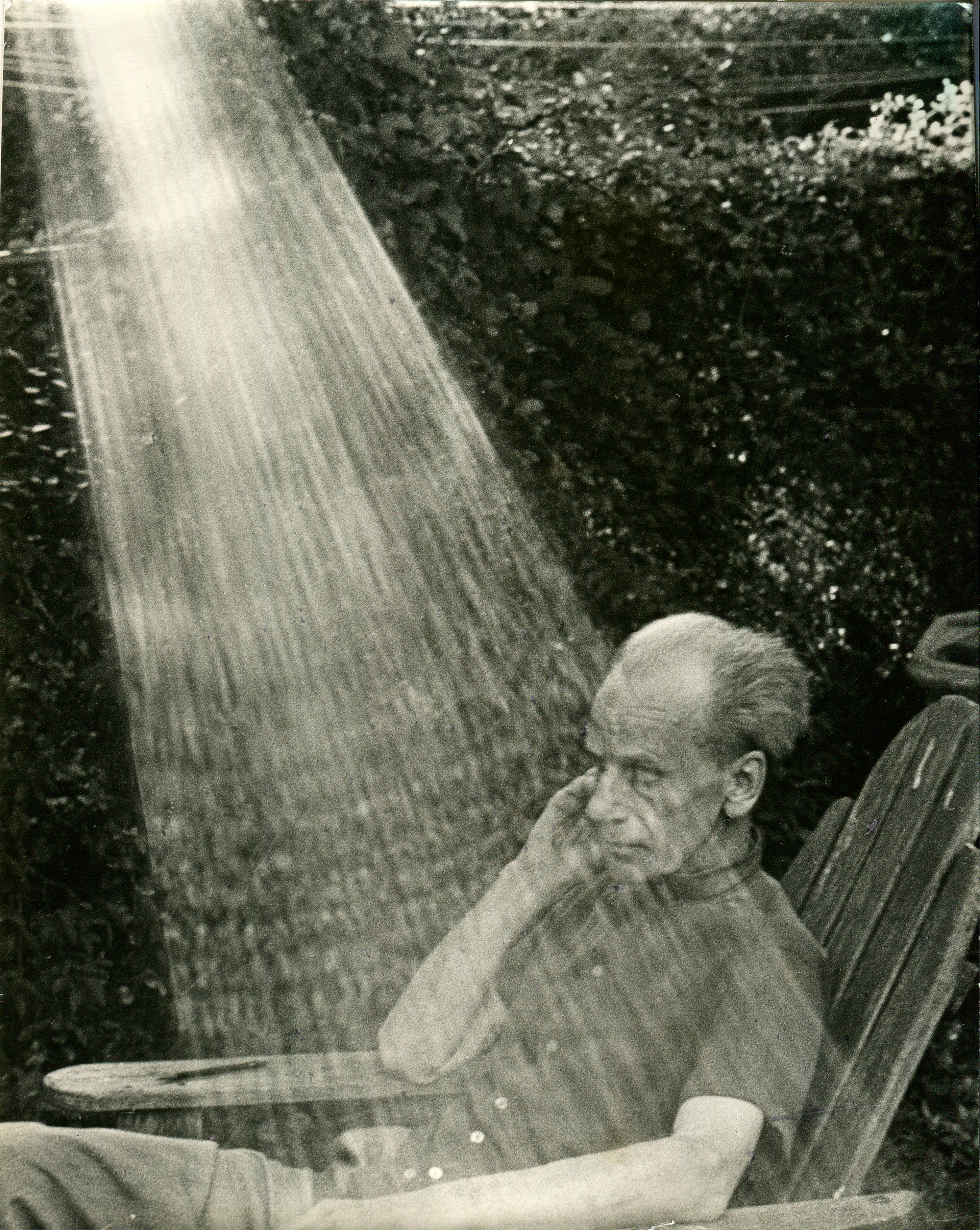 Hans Namuth Joseph Cornell at Home in New York