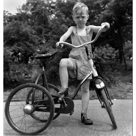 Boy and Big Trike