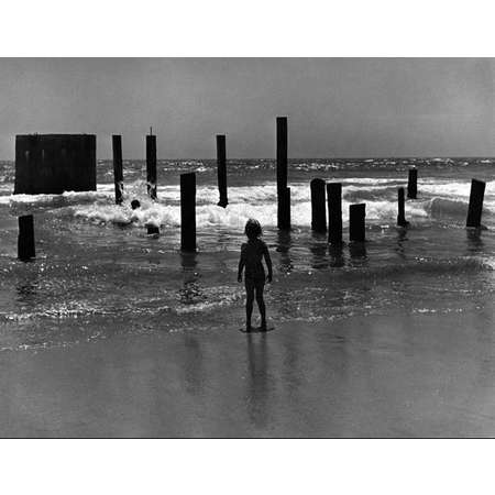 Girl with Pilings