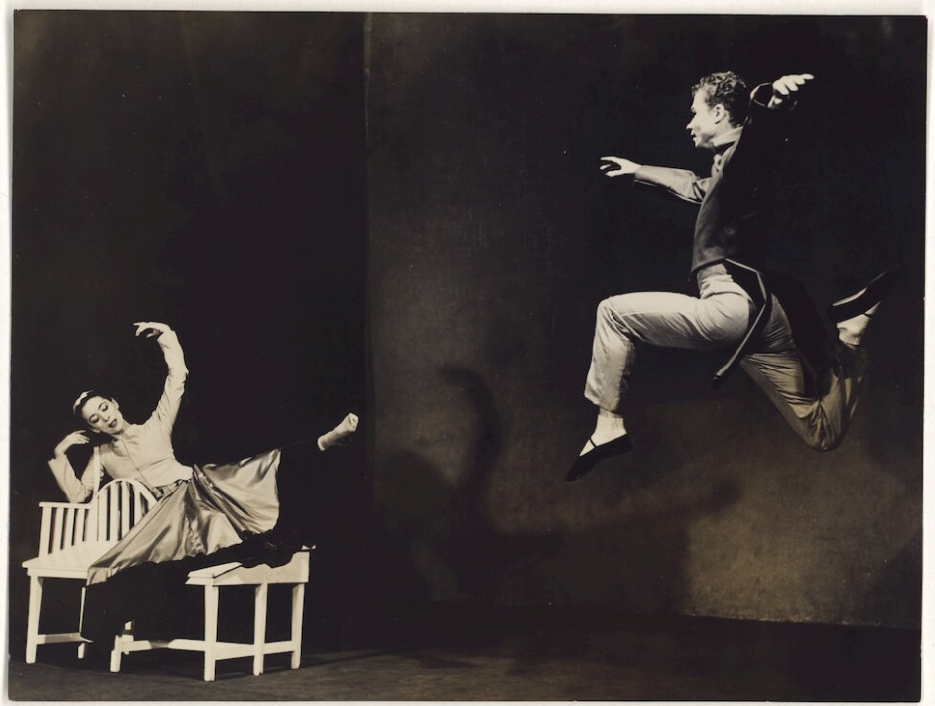Barbara Morgan, Martha Graham and Merce Cunningham in Letter to the World, 1940/1977, Catherine Couturier Gallery