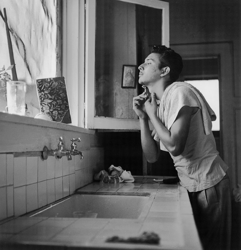 Catherine Couturier Gallery Ida Wyman Lalo Shaving, Los Angeles, 1950