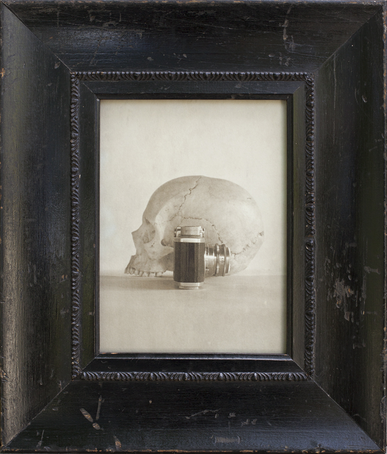 Skull and Camera, Jefferson Hayman, Catherine Couturier Gallery