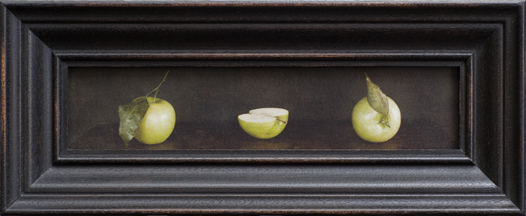 Three Apples, Jefferson Hayman, Catherine Couturier Gallery