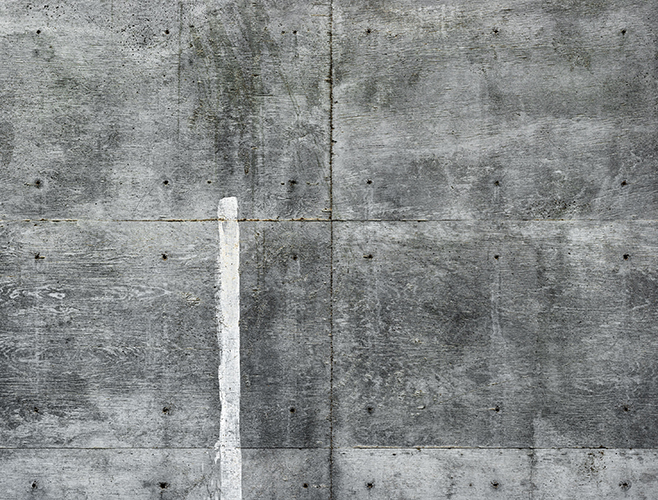 John Chakeres The Grey Series White Stripe Wall 2015