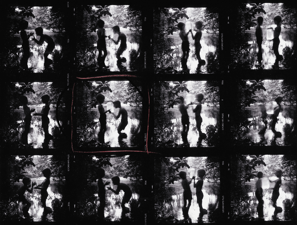 Contact Sheet, Fireflies, Keith Carter, Catherine Couturier Gallery
