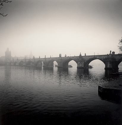 Michael Kenna Charles Bridge, Study 8, Prague