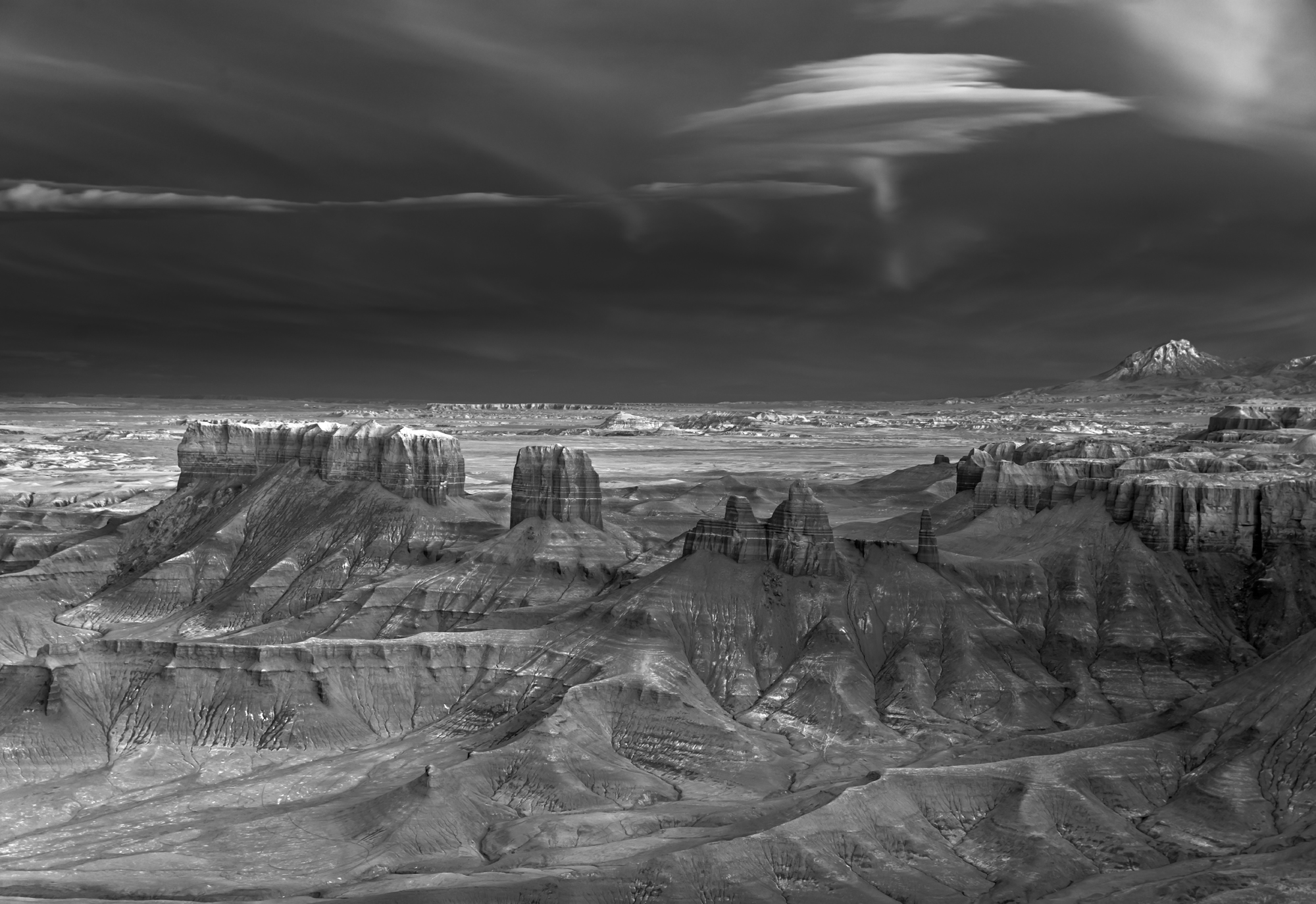 Mitch Dobrowner, Nacreous over Badlands, Catherine Couturier Gallery