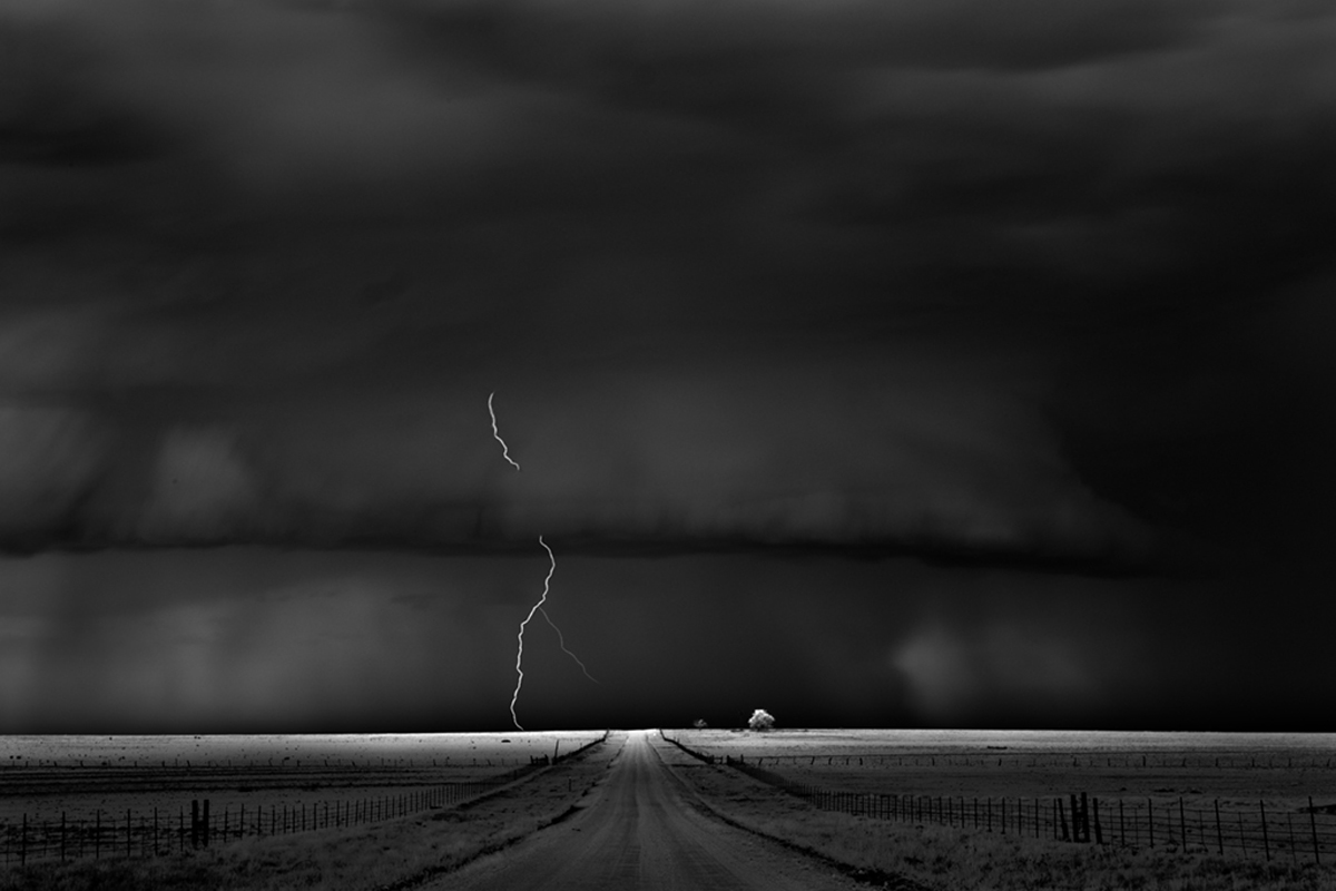 Mitch Dobrowner, Road, Catherine Couturier Gallery
