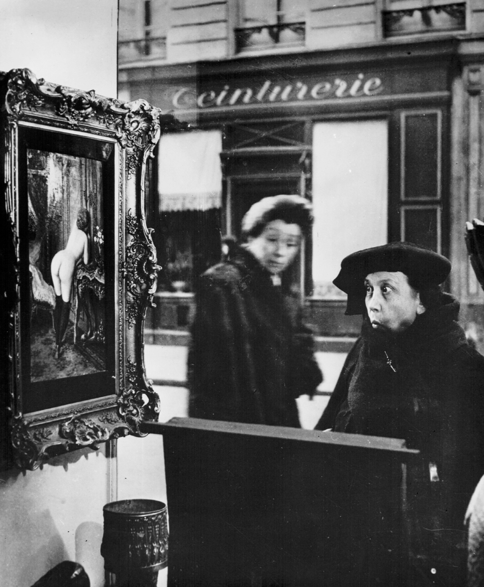 Robert Doisneau, La Dame Indignee, Catherine Couturier Gallery