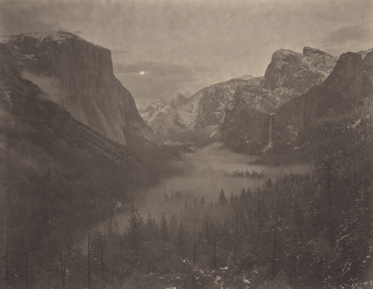 Takeshi Shikama Silent respiration of forests yosemite # 13