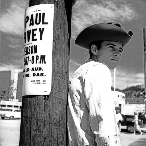 Vivian Maier, Man in Cowboy Hat, South Dakota, June 1967