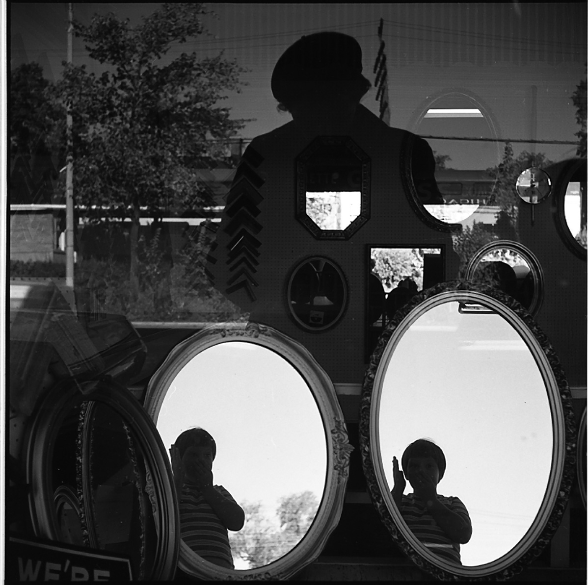 Vivian Maier, Self-portrait, Storefront Window Reflection, North Suburbs, Chicago, 1968